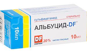 Альбуцид можно закапать до похода к врачу