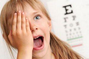 Гимнастика для детских глазок