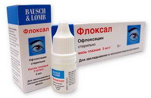 Флоксан - капли для глаз при бактериальном конъюнуктивите