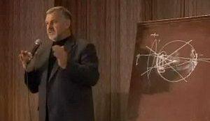 Профессор Жданов на лекции