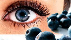 Глаз и черника