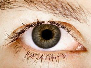 Глаз болотного цвета