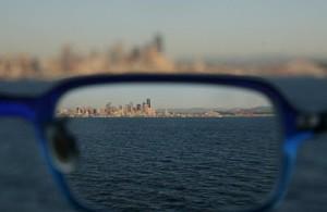 Картинка через очки