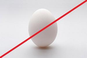 Нельзя яйцо