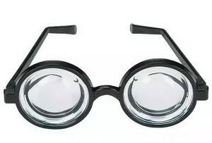 Очки с толстыми линзами