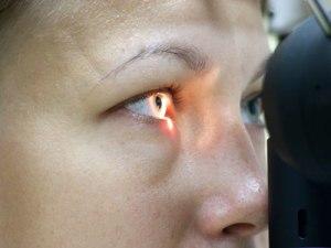 Проверка глаза