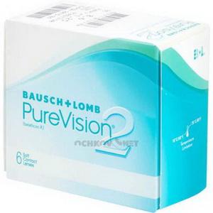 упаковка линз purevision