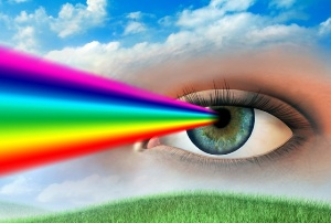 Радуга из глаз